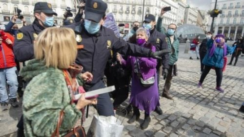 Estado Español. 8M, daños colaterales y pendencias