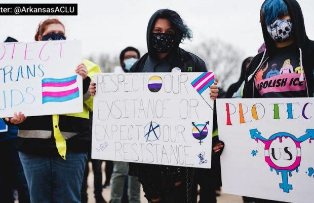Estados Unidos. Arkansas: es delito la atención médica para jóvenes trans