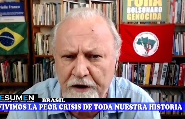 Resumen Latinoamericano tv: Joao Pedro Stedile y la crisis sanitaria en Brasil