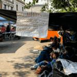 México. Tras ocho días de plantón, familias de Guerrero logran ser reconocidas como víctimas de desplazamiento