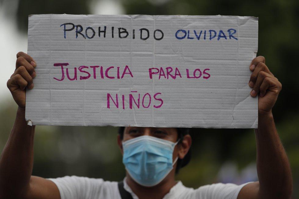 """El presidente de Panamá, Laurentino Cortizo, emitió un comunicado en el que pide castigo con el """"máximo rigor de la ley para los responsables de los delitos cometidos contra los derechos de las niñas, los niños y adolescentes""""."""