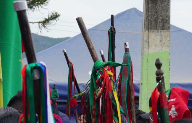 Colombia. Denuncian que el ESMAD atacó a caravana indígenas que se dirigía a Popayán