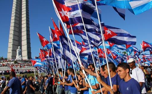 Cuba. CLATE presente en la celebración del 1 de mayo