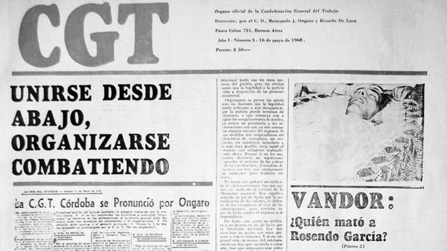 La CGTA, la mayor experiencia de lucha antiburocrática sindical de Argentina  | La tinta