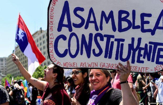 Nuestramérica. Chile: Del paro a la constituyente… y Colombia?