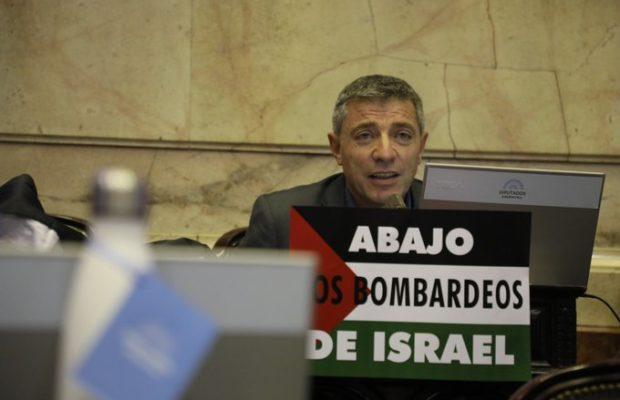 Argentina. Ante la campaña de estigmatización encarada por sectores pro-sionistas contra el diputado Juan Carlos Giordano, se reafirma la solidaridad con el dirigente político de Izquierda Socialista