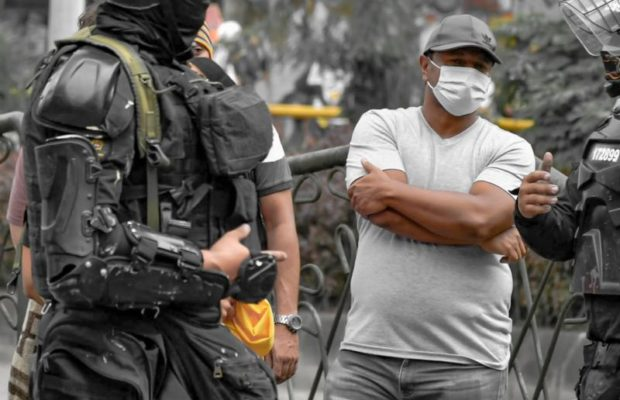 Colombia. ¿Quién arma a la policía represora?