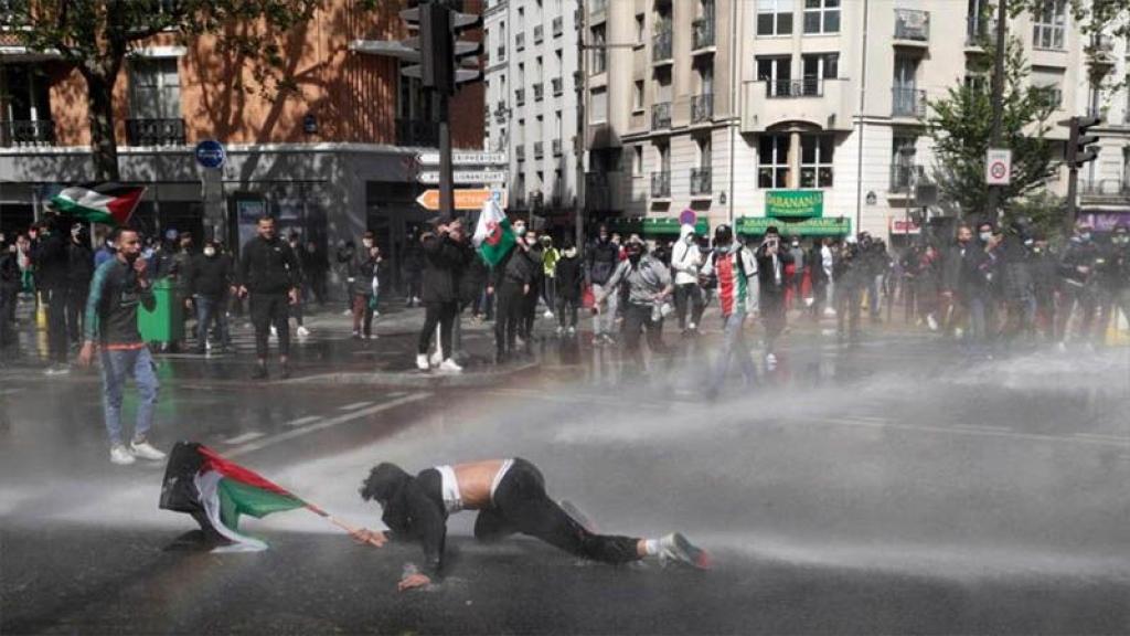 ¿Y la democracia?: Policía de varios países europeos reprime marchas a favor de Palestina