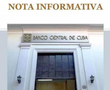 Cuba. Se suspende temporalmente la aceptación de depósitos bancarios en efectivo de dólares de Estados Unidos