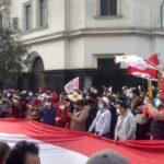 Perú. Miles de manifestantes y ronderos marcharon en Lima exigiendo el reconocimiento del triunfo de Pedro Castillo (video)
