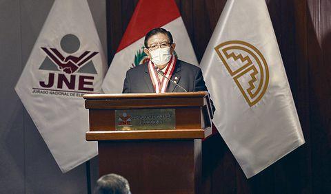 JNE. Magistrado Salas dijo que hay 80 apelaciones de FP. Foto: JNE