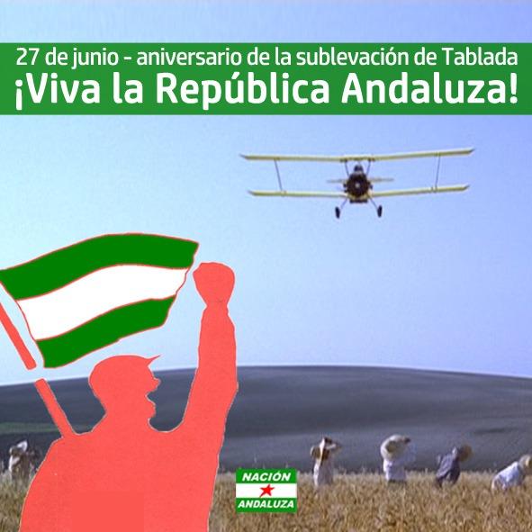 """Comunicado de Nación Andaluza en el 90º aniversario del """"complot de Tablada"""""""