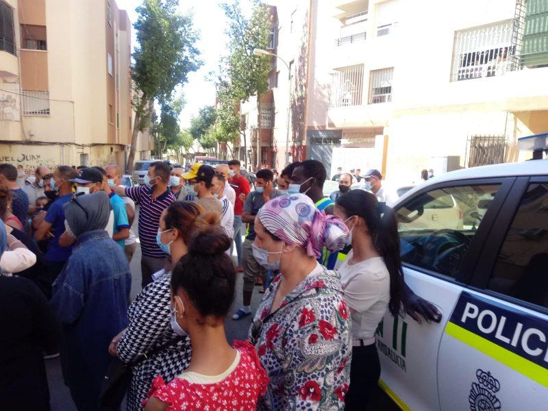 Almería: El Opus y la Junta ejecutan otro desahucio en el barrio del Quemadero