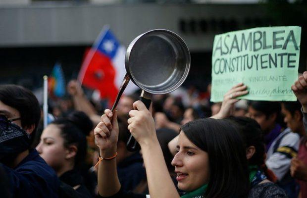 Chile. Bienvenida, Convención constitucional