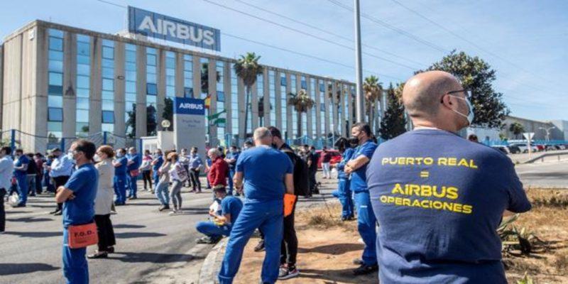 Bahía de Cádiz: Nuevas movilizaciones en Airbus Puerto Real