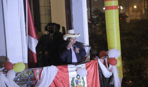 Castillo postula por primera vez a la presidencia de la República. Foto: John Reyes /La República