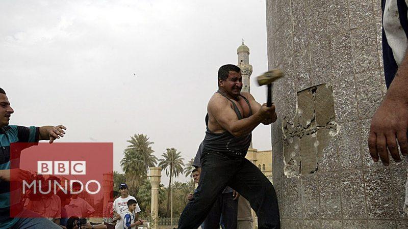 """""""Yo derribé la estatua de Saddam pero ahora querría tenerlo de vuelta"""""""