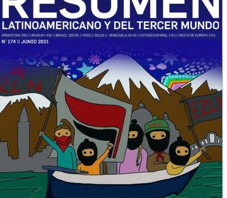 Nuestramérica. La nueva edición del periódico Resumen Latinoamericano dedica su portada al zapatismo y a la victoria de Pedro Castillo en Perú (PDF para descargar)