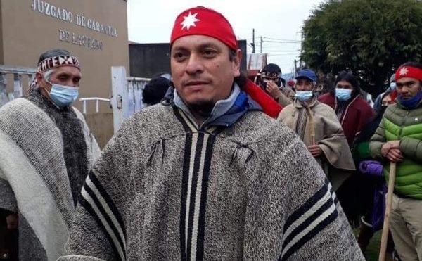 Nación Mapuche. En Libertad Reinaldo Penchulef de la Comunidad Antonio Peñeipil de Galvarino