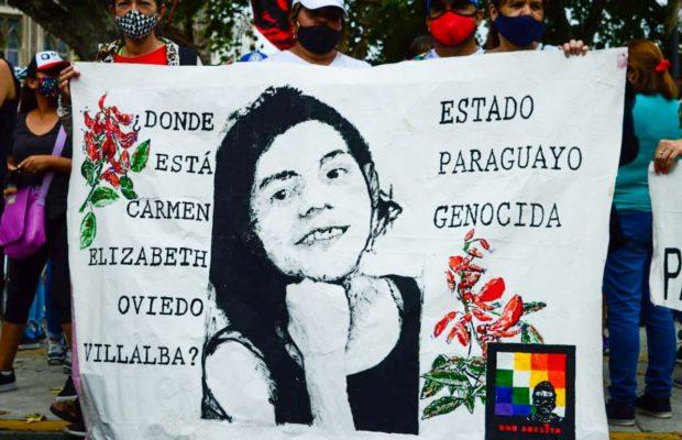 Paraguay. Desde la prisión, Cármen Villalba llama a seguir la lucha por la aparición de Lichita