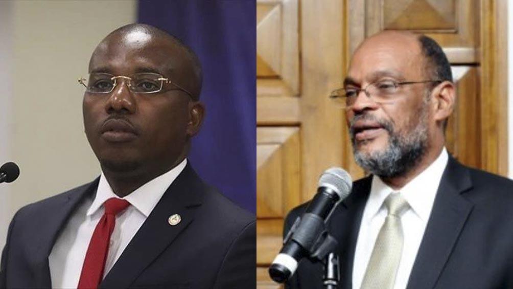 Se desató una pulseada de poder entre el premier nombrado Ariel Henry y el premier interino en Haití Claude Joseph.