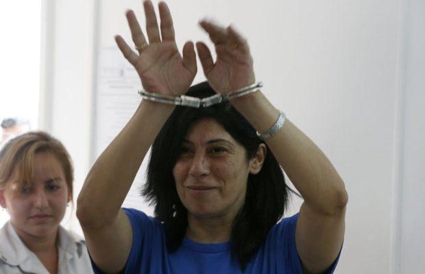 Palestina. Exigen la libertad de Khalida Jarrar, prisionera en cárcel israelí