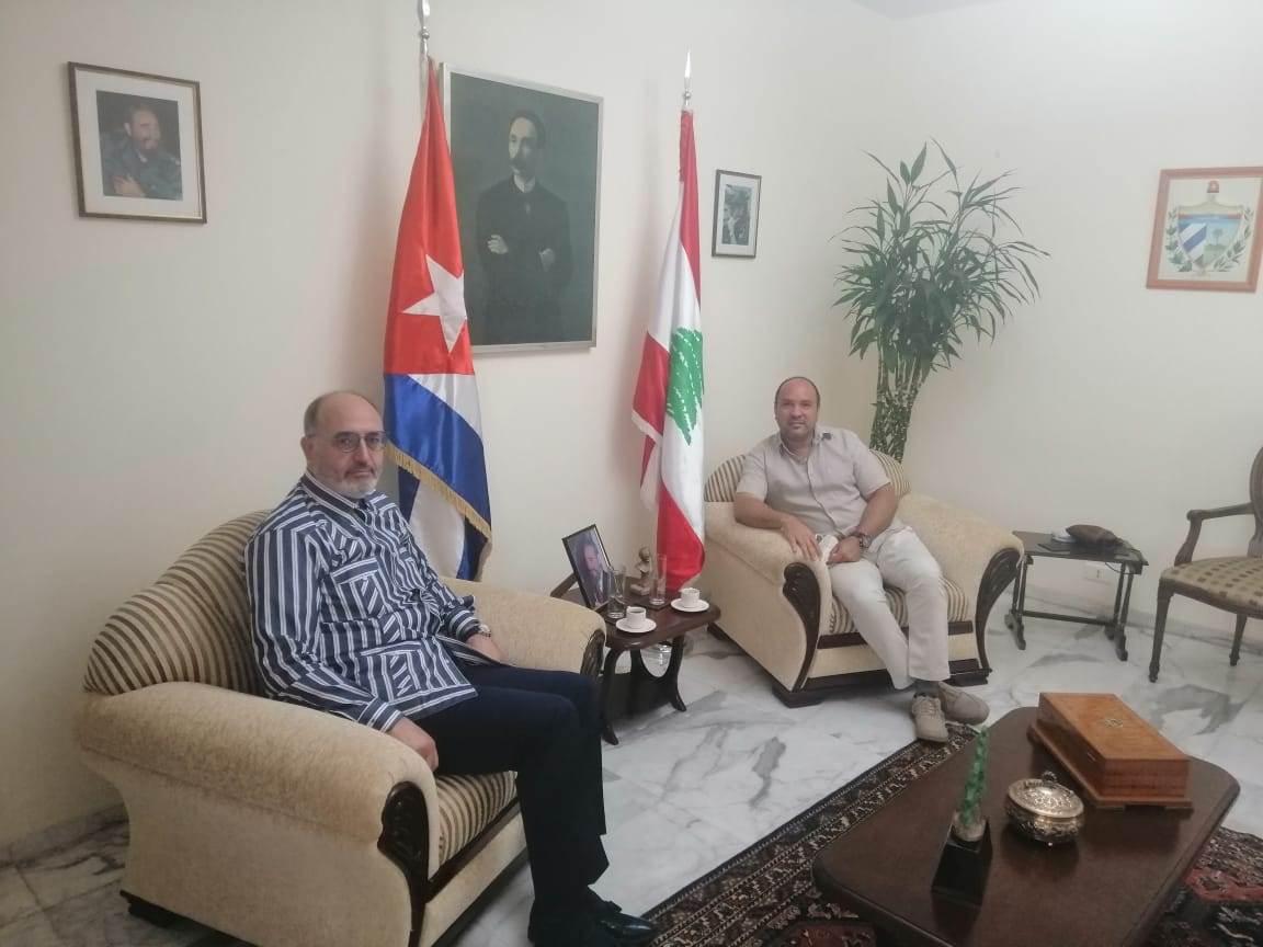 Presidente de Al Mayadeen en solidaridad con Cuba