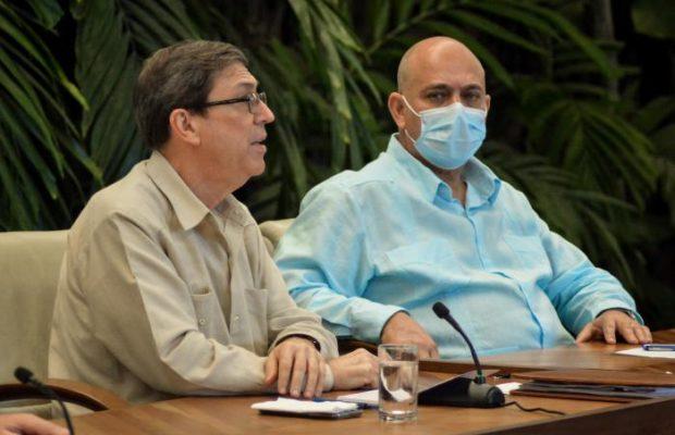 Cuba. Bruno Rodríguez: Emplazamos a EE. UU. a que confirme o desmienta que financión la operación de desestabilización