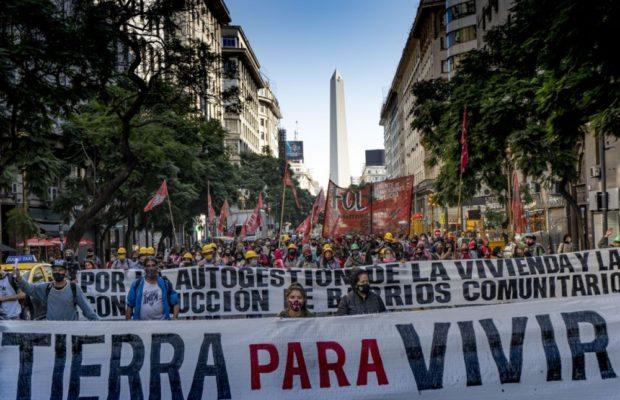 Argentina. Realizarán una jornada político-cultural por «Tierra para vivir y autogestión de la vivienda»