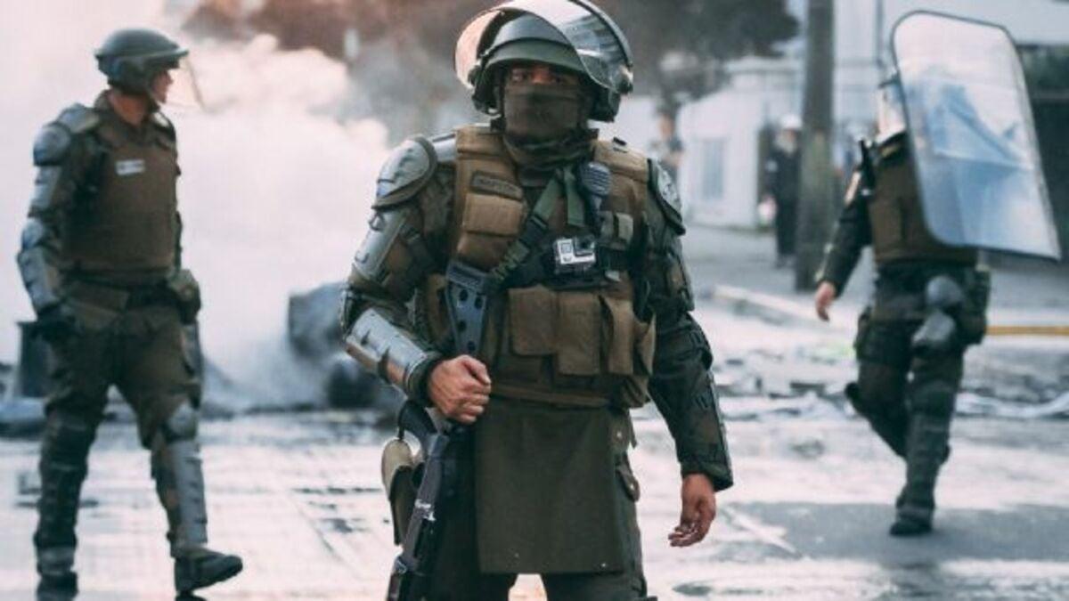 Más represión en Chile: dos constituyentes detenidos (imagen ilustrativa)