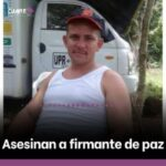 Colombia. Asesinan a Jesús Danilo Mora Londoño, firmante del Acuerdo de Paz