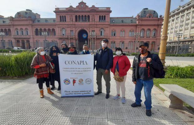 Pueblos originarios. Organizaciones indígenas se reunieron con funcionarios del gobierno argentino