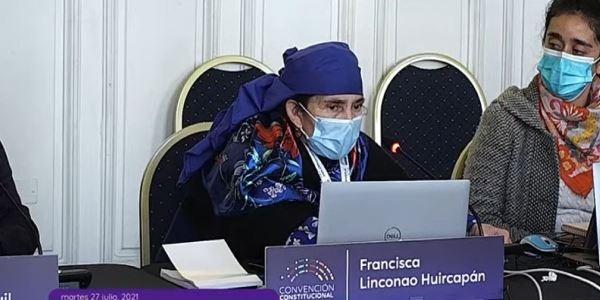 """Nación Mapuche. Francisca Linconao y su potente presentación ante comisión de DD.HH.: """"Estuve un año encarcelada"""""""