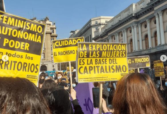 Chile. Caminata del Silencio