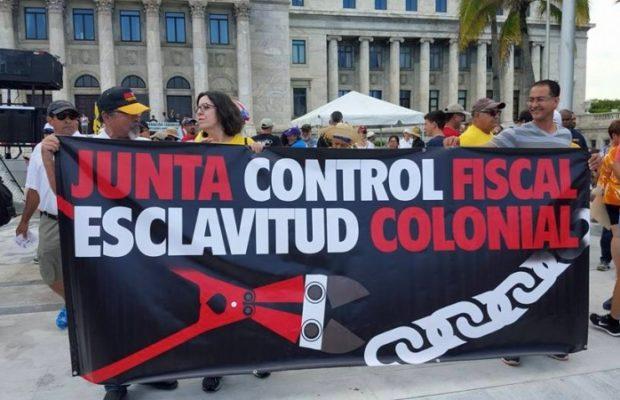 Puerto Rico. Con la consigna «Se acabaron las promesas» convocan marcha contra la Junta de Control Fiscal, organismo colonial de imposición