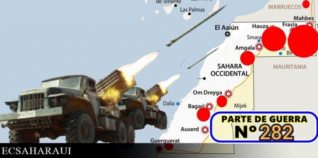 Continua la ofensiva del Ejército de Liberación Saharaui / Dos buques de guerra rusos anclan en la costa de Argelia tras no ser autorizados para hacerlo en Ceuta