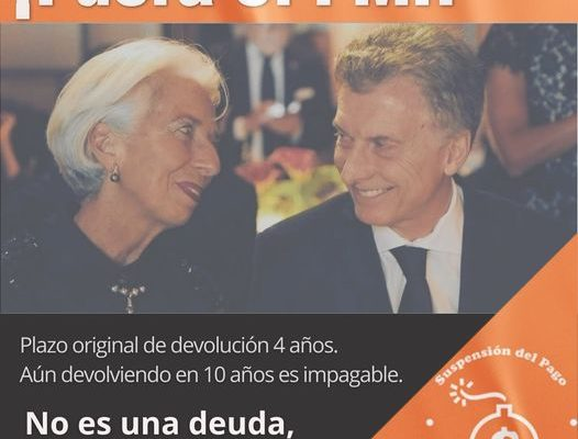 Argentina. No es una deuda, es una estafa
