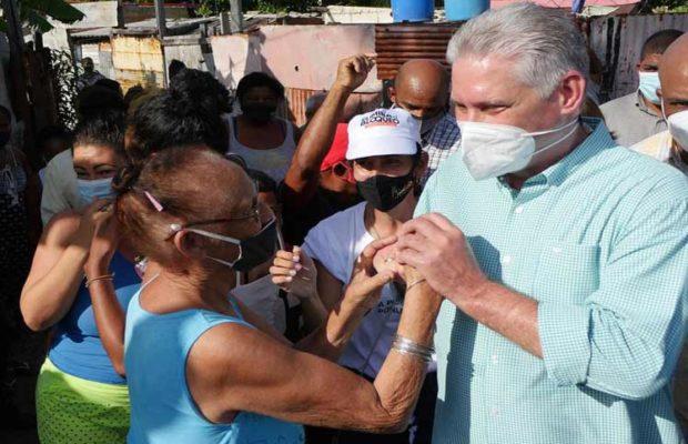 Cuba. El presidente insiste en el protagonismo de las comunidad