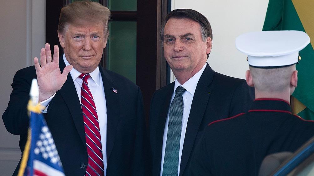 """Stédile diferenció al brasileño del exmandatario de EEUU, ya que este último """"tiene una base económica de la burguesía gringa imperial y tiene al partido (Republicano)"""" mientras que el presidente de Brasil """"no tiene ni siquiera partido"""". Foto: AFP"""
