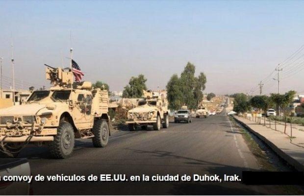 Irak. Otros dos convoyes logísticos de EEUU son objeto de ataques