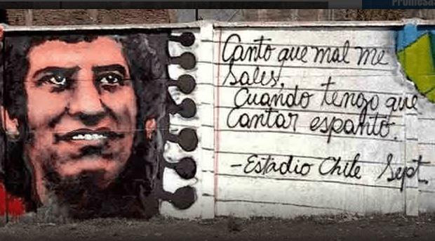 Chile. Durante la noche del 11/9 continuaron las movilizaciones y actos de resistencia /Homenaje a Víctor Jara en el Estadio Nacional (videos)