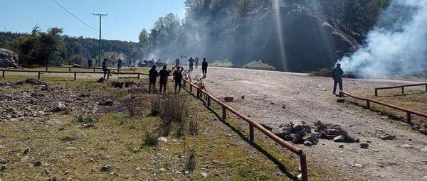 Nación Mapuche. Comunidad Rañilwenü de Alto Biobío resiste intento de desalojo por parte de Carabineros