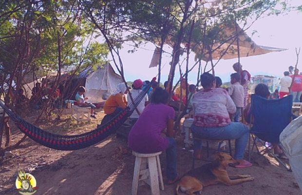 Honduras, Guardias de seguridad de la Universidad Nacional Agraria se organizan para desalojar a personas de la comunidad campesina Nueva Esperanza