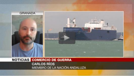 """""""Monarquía española, cómplice de Arabia Saudí en el tráfico de armas"""" (vídeo) – La otra Andalucía"""