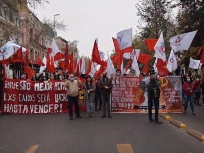 11S en Chile: Marchas multitudinarias, actos y barricadas recordaron a Allende y lxs presxs de la revuelta