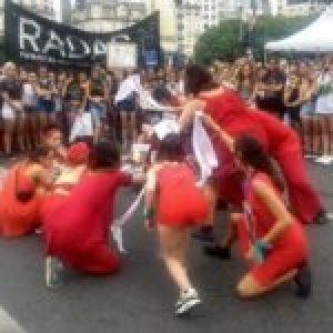 Argentina. #9M,  presentes las «Abolicionistas del sistema prostituyente»