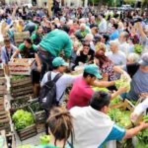 Argentina. VERDURAZO Los dos campos: verdurazo popular vs. lockout patronal