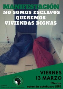 El Sindicato Unitario en apoyo de las trabajadoras inmigrantes – La otra Andalucía