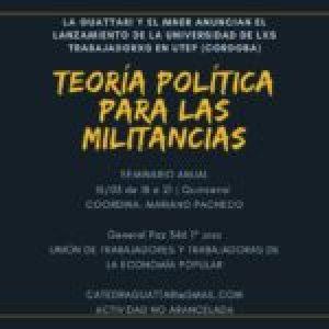 Argentina: lanzamiento de la Universidad de lxs trabajadxs en la provincia de Córdoba