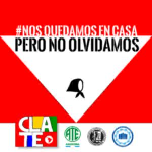 """Argentina. 24 de marzo: """"Nos quedamos en casa, pero no olvidamos"""""""